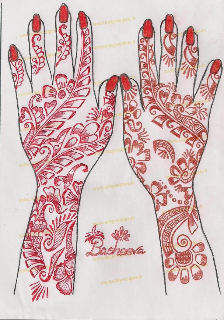 Mehndi Patterns Templates : Best indian mehndi henna designs templates for