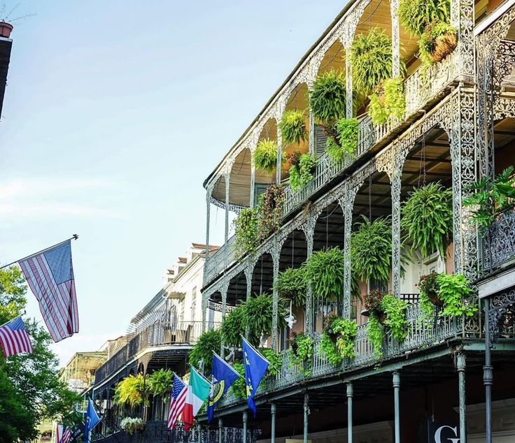 New Orleans, Francia negyed/French Quarter