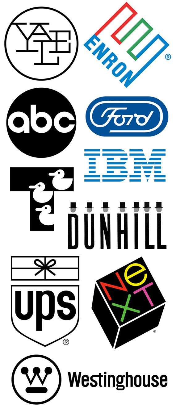 Paul Rand - several of these will stand the test of time