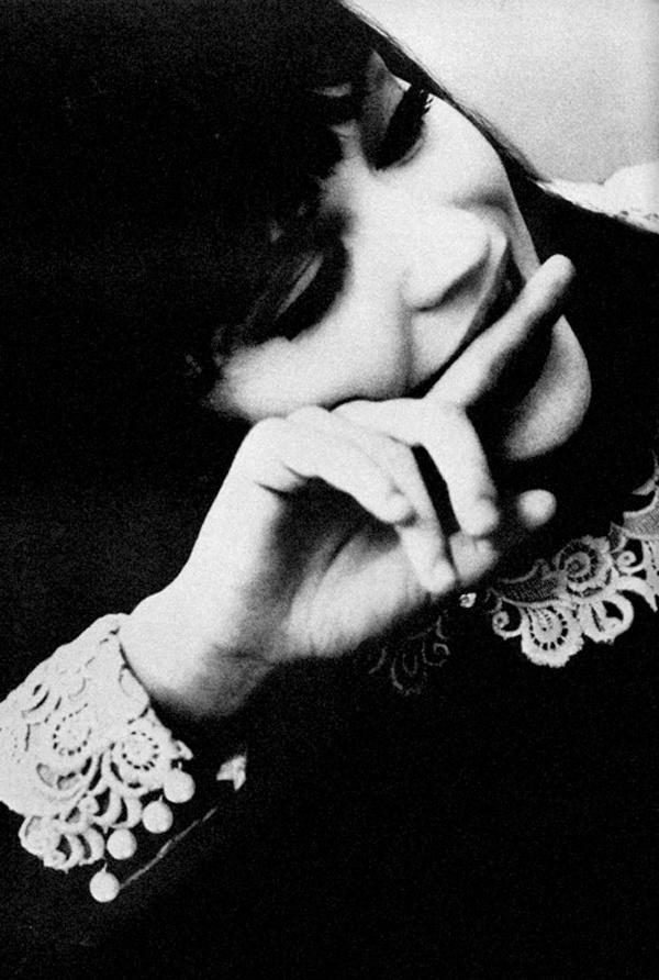 Anna Karina by David Bailey 1965