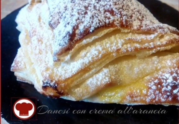 Danesi con crema all'arancia - Ricette - Cookkando In Cucina Facile FacileRicette – Cookkando In Cucina Facile Facile