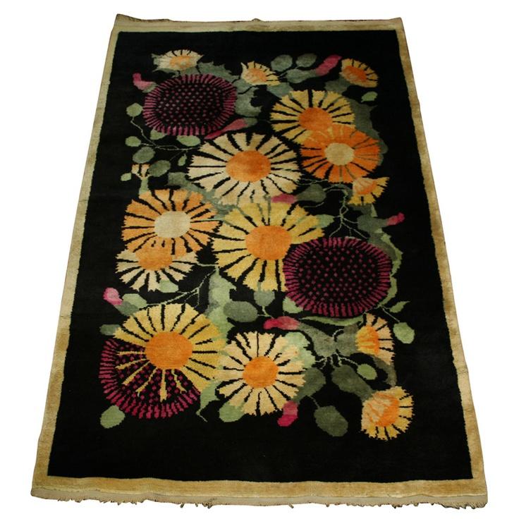 Handmade Wool Carpet By Paul Poiret