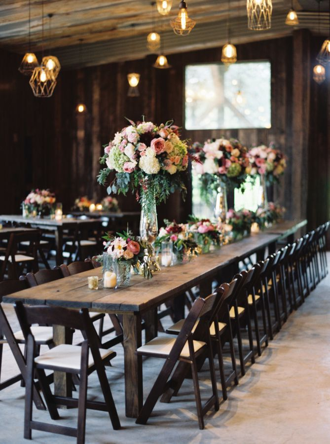 Rustic southern chic tablescape: http://www.stylemepretty.com/texas-weddings/dripping-springs/2016/03/28/this-wedding-takes-southern-chic-to-an-entirely-new-level/ | Photography: Jenna McElroy - http://jennamcelroy.com/