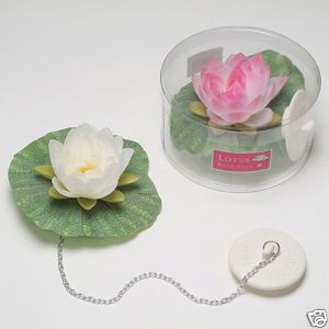 Photo Gallery Website Floating Exotic Lotus Flower Bath Tub Plug Romance uFun