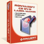 RonyaSoft CD DVD Label Maker is a fast and easy program to design and print beautiful covers, labels, and box inserts! Software comes with all the tools needed to create a label or cover in minutes, without having to learn Corel or Photoshop.