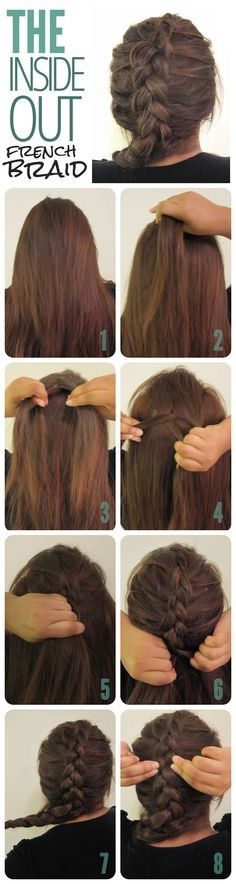 How To Do A Inside Out Braid #Beauty #Trusper #Tip
