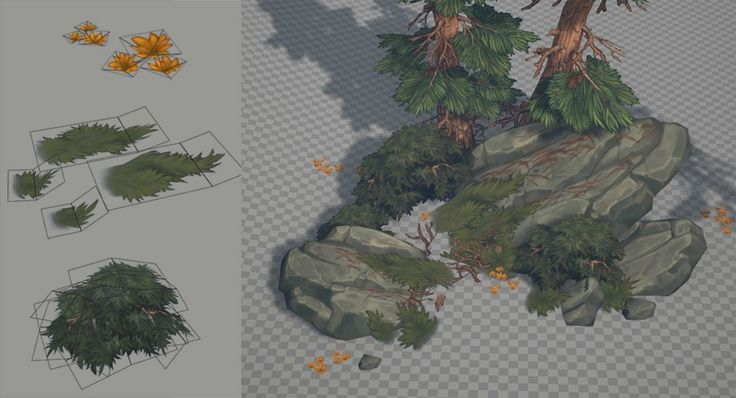 Hand painted environment - Wood house - Page 4 - Polycount Forum