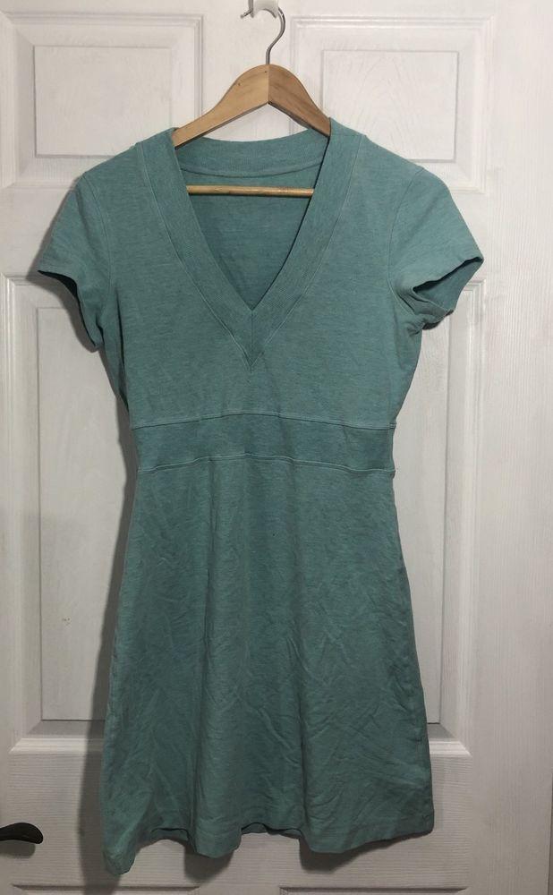 Lululemon Cool Out Dress Size 8 Heathered Aruba   | eBay