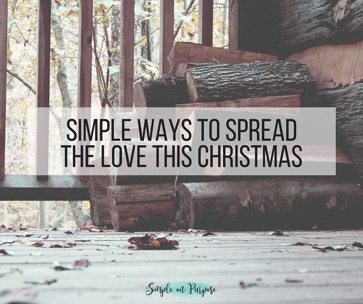 42 Simple Ways to Spread the Love this Christmas