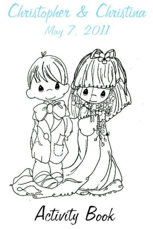 Moments Wedding Coloring Page