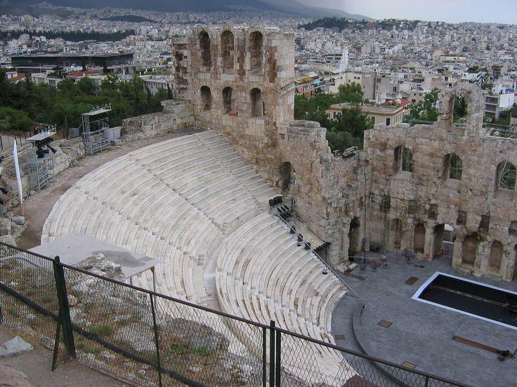 Anfiteatro griego.