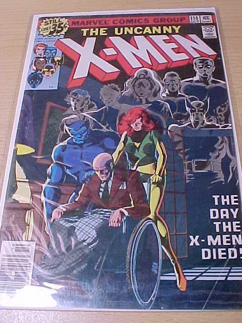 X Men vintage comic 114  graded 9.4 1978 b&b by VintageAudioPlus, $32.95