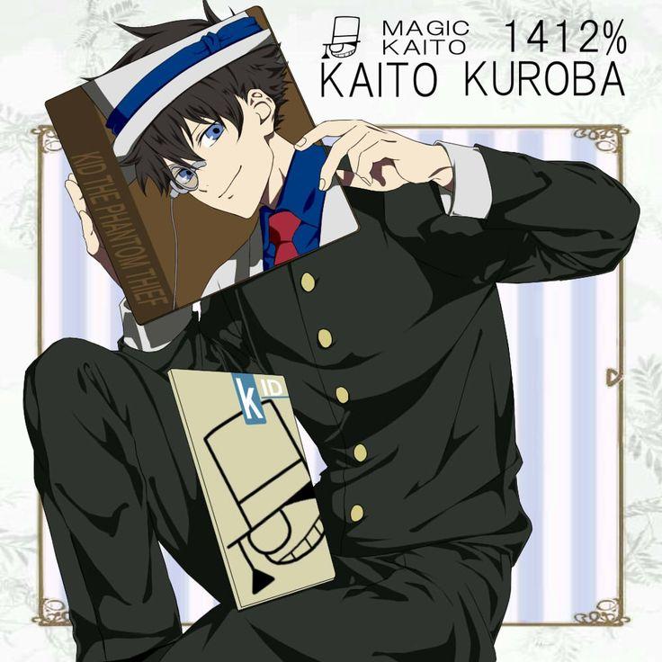 Tags: Fanart, Kaitou Kid, Pixiv, Kuroba Kaito, Fanart From Pixiv, Magic Kaito, Pixiv Id 4332660