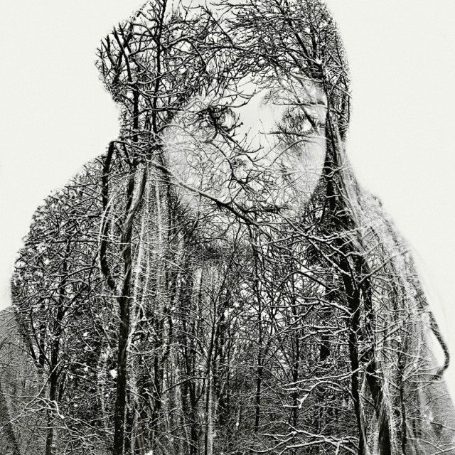 Superb Multiple Exposure Portraits by Christoffer Relander: Double Exposure, Multiplication Exposure, Schools Photography, Exposure Portraits, Christoff Reland, Graphics Design, Contemporary Art, Digital Photography, Design Blog