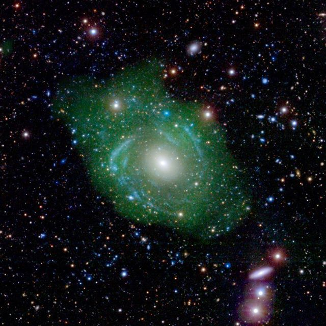 'Frankenstein' Galaxy Surprises Astronomers: About 250 million light-years away, there's a neighborhood of our universe that astronomers had considered quiet and unremarkable. But now, scientists have uncovered an enormous, bizarre galaxy possibly formed from the parts of other galaxies. Previously thought to be old, small and typical, scientists have discovered that the galaxy is 10 times bigger than they thought. Unlike most galaxies, its insides are younger than its outsides. By…