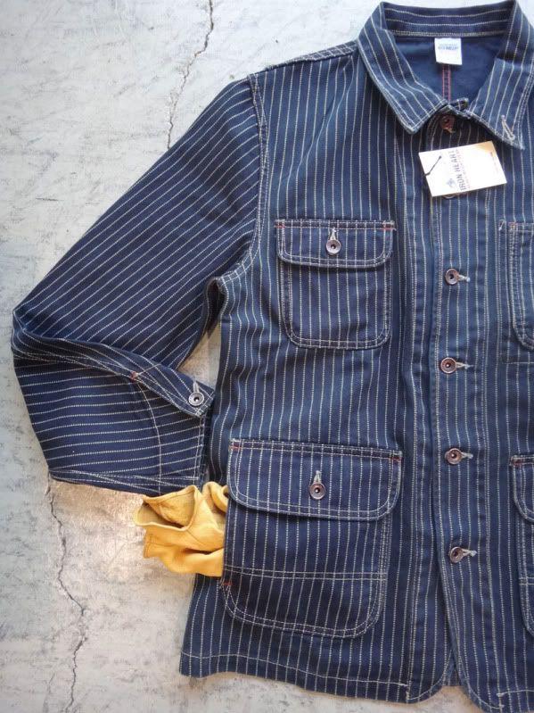 • Wabash Striped Engineer Jacket