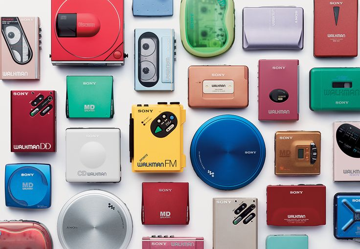 Remember the Walkman? These Photos of Retro Sony Electronics Are a Blast from the Past