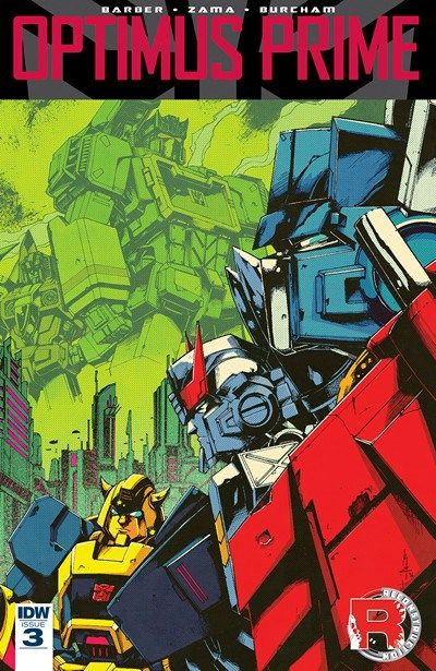 Optimus Prime n°3 (25.01.2017) // An uneasy peace between Optimus Prime and the newly arrived Junkions is threatened by Soundwave's discovery within their massive ship…  #optimus #prime #idw #publishing #comics