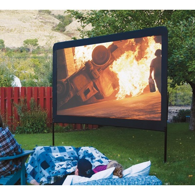outdoor movie screenMovie Night, Summer Night