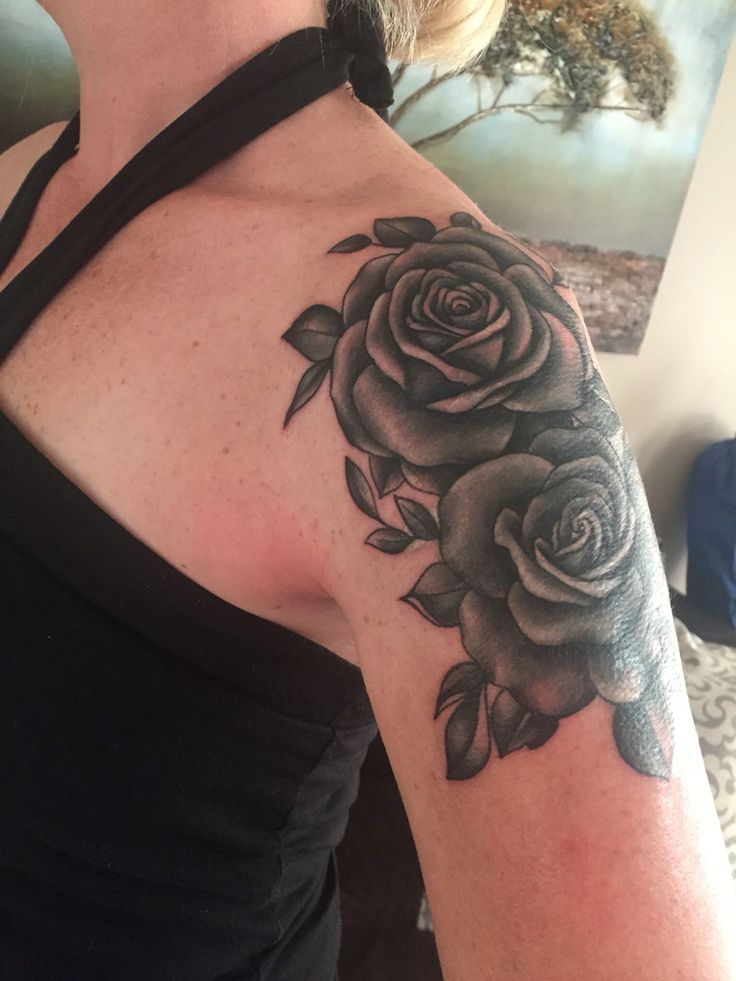 17 best ideas about cover up tattoos on pinterest for Rose tattoo on back shoulder