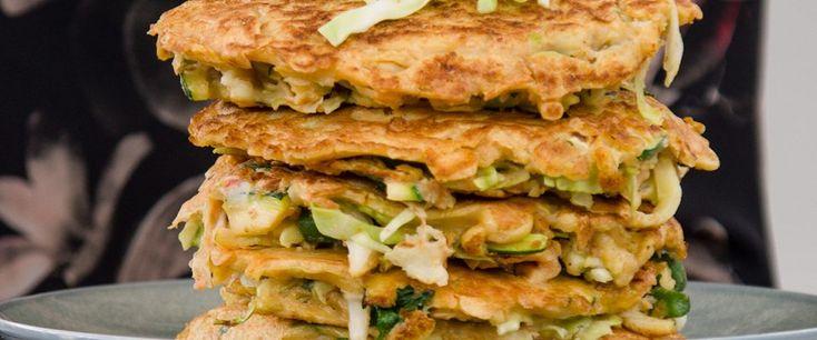 Japanese style pancake - recipe courtesy of Caroline Trickey, APD.