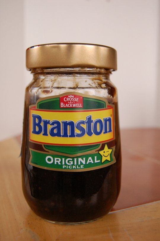 Branston Pickle - a British thing that I must try