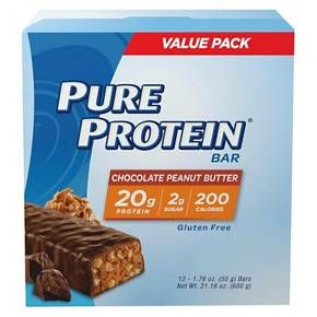 Pure Protein Bar Chocolate Peanut Butter - 12 Count : Target