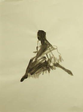 "Saatchi Art Artist Marta Zamarska; Drawing, ""Modern Dance XXI"" #art"