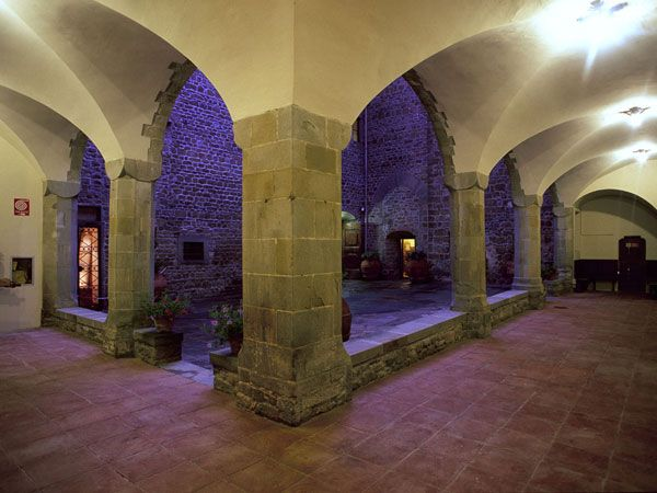 The cloister in the villa, where is possible to have symbolic or blessing. Prestige Italy - Photogallery - via http://bit.ly/epinner