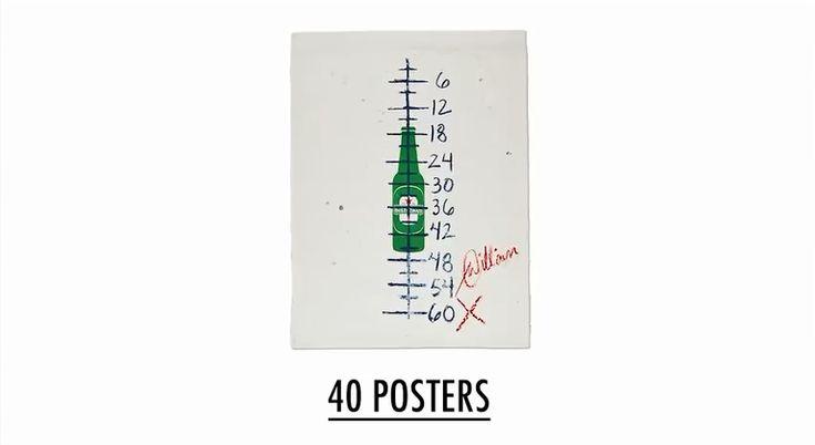サイト訪問者の25%が慈善オークションに参加!ハイネケンが出品した『伝説のポスター』 | AdGang