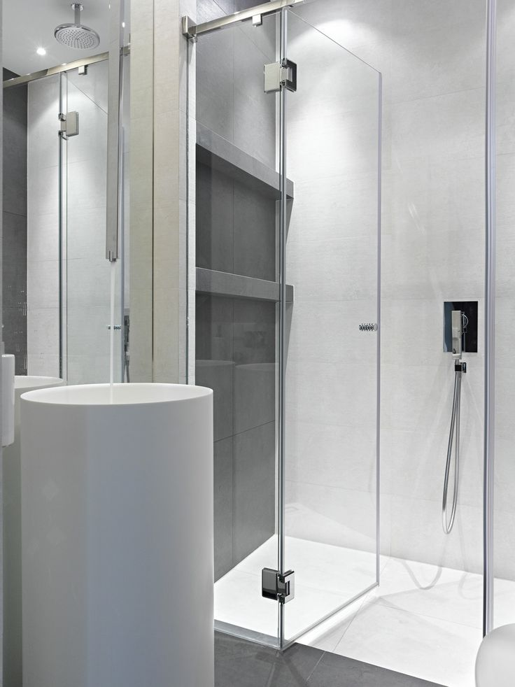 Perfect Small Bathroom Remodeling Design with Glass Doors Set and Chrome Tub Shower Combo Completed also White Ceramic Flooring Design and Hidden Ceiling Lights