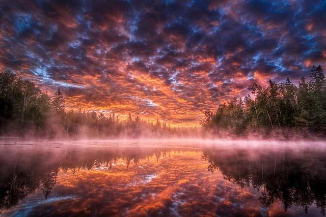 Algonquin Sunrise HDR