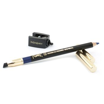 Yves Saint Laurent - Dessin Du Regard Long Lasting Eye Pencil - No. 3 ( Oriental Blue ). A dual-ended 2-in-1 eye pencil One end is eyeliner kohl while the other applies eye shadow With a soft & firm texture that gives versatile makeup results Contains high pigment content for a long-lasting intense finish Comes with a cosmetic sharpener