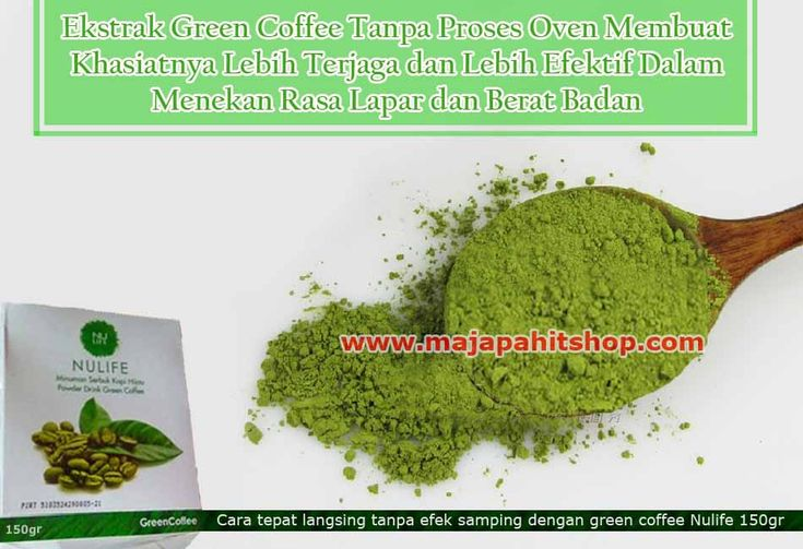 manfaat green coffee nulife