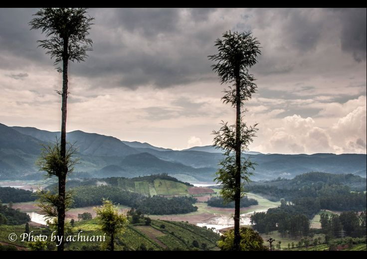 After the storm comes the calm by Anitha Mysore on 500pxShot on the way to Ooty. A wonderful scenery even as the rain gave us a breather!