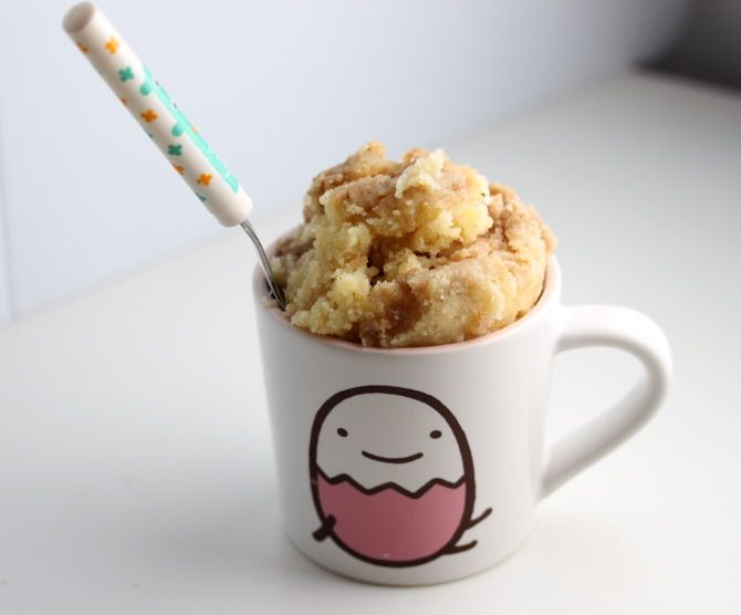 30 Mug Recipes - Amazing Desserts in the Microwave - love these for when you don't feel like baking :) #mug #recipes #cakeinacup