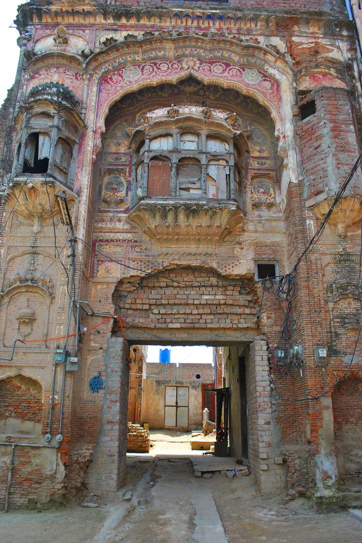 Interior Murals Of The Hindu Pantheon Once Th Rajput Town Saidpur Sacked By Akbar Punjab India Now Eminibad Pakistan