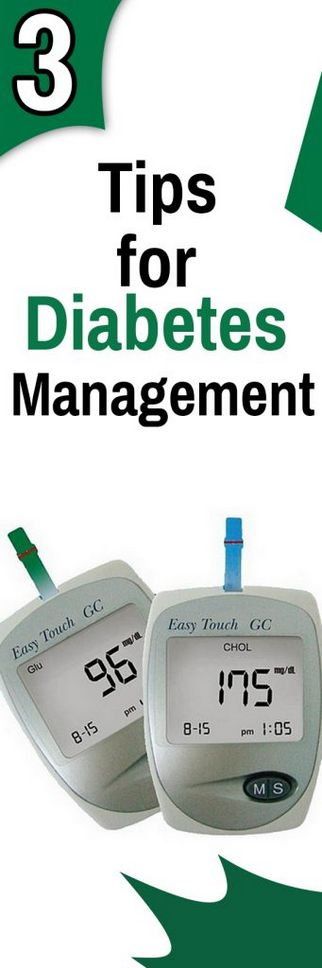 3 Tips for Diabetes Management