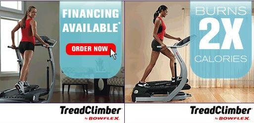 Bowflex treadclimber treadmill elliptical stepper
