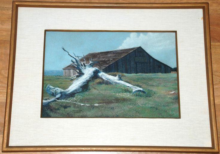 "1976 Douglas Fenn Wilson Painting, ""The Hiding Place"". #Impressionism"