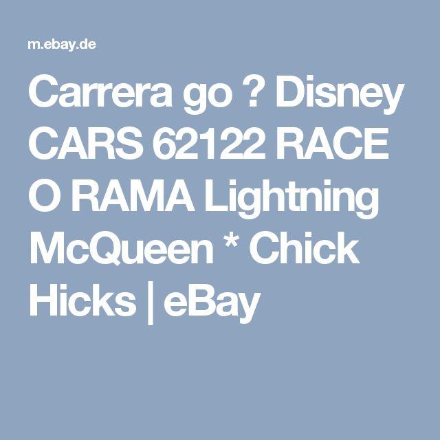 Carrera go 🚘 Disney CARS  62122 RACE O RAMA Lightning McQueen * Chick Hicks  | eBay