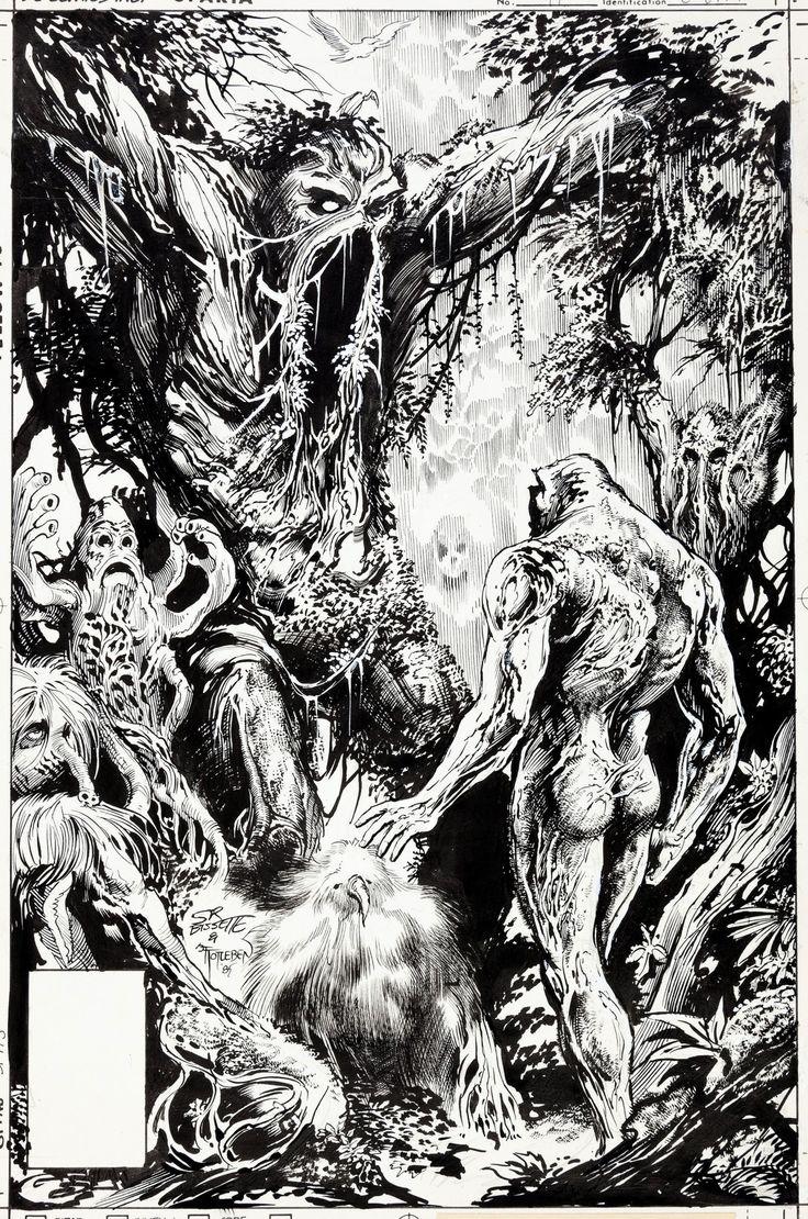 Original cover art by Stephen Bissette and John Totleben ...