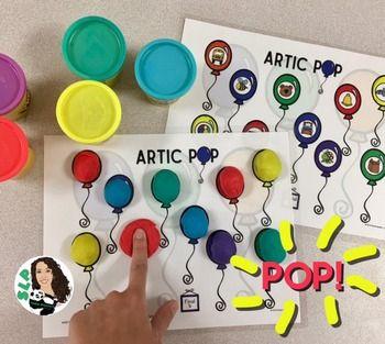 ARTIC Pop! Speech Therapy FREEBIE