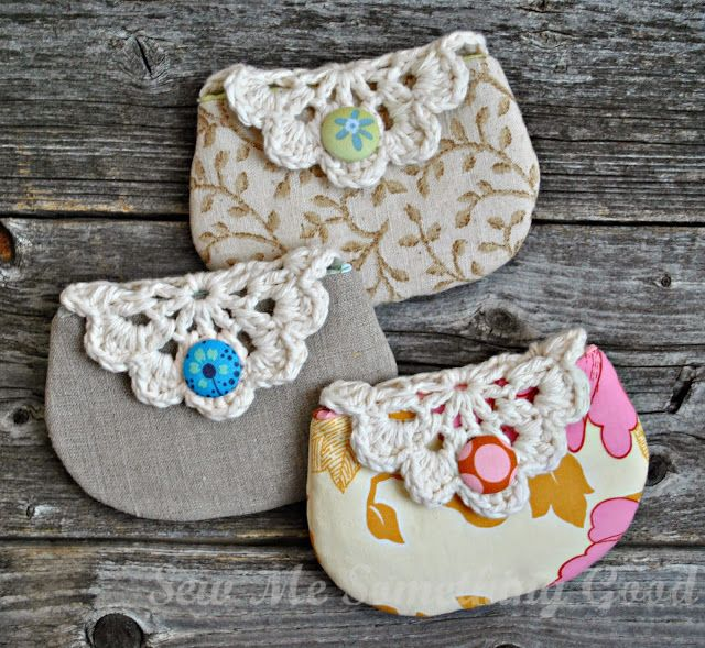 Sew Me Something Good: Super cute! Zakka Pouches