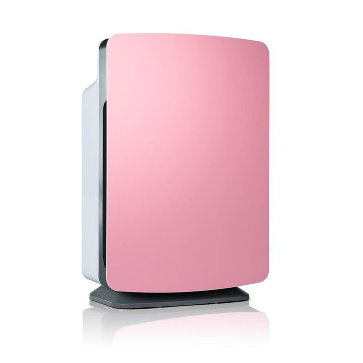 Alen BreatheSmart Customizable Air Purifier with Hepa-Silver Filter to Remove Allergies Mold and Bacteria, Petal Pink