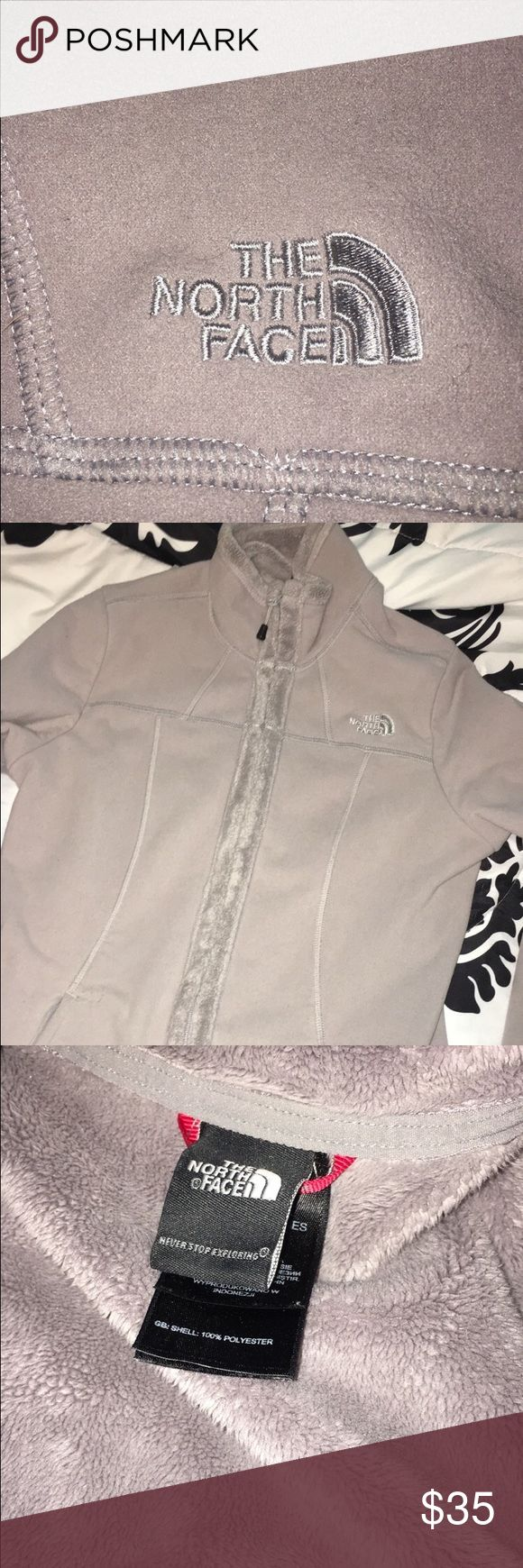 North Face Jacket !!!! very soft- osito like material on the inside. very comfortable and cute! size small, gray ! The North Face Jackets & Coats