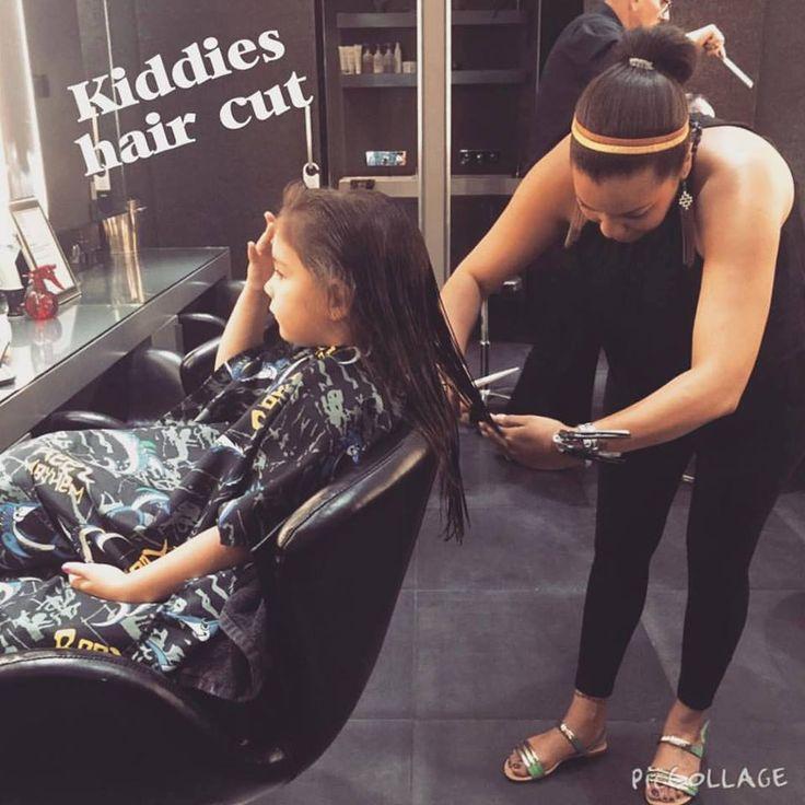 Kiddies haircut by Stacey at Midori