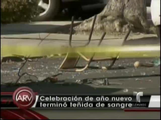 Celebración De Año Nuevo En Nueva York Se Tiñe De Sangre #Video