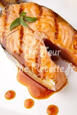 Photo de la recette Saumon Teriyaki (Japon)
