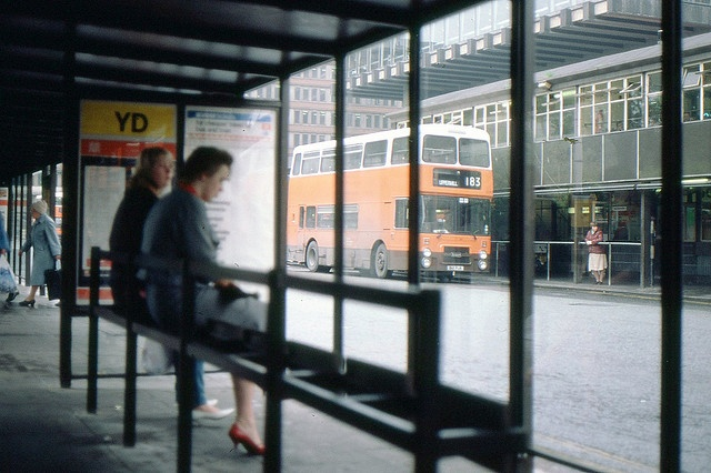 Piccadilly bus station 1984 by manchestersnaps, via Flickr    See this group:http://www.flickr.com/groups/1263997@N22/pool/with/3948053766/#photo_3948053766